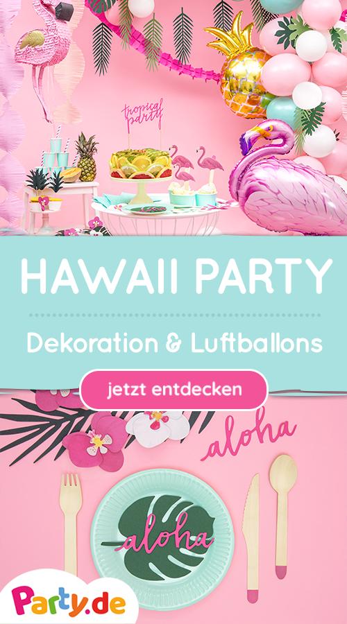 Aloha! Tropical & Hawaii Partydeko bei Party.de # ...