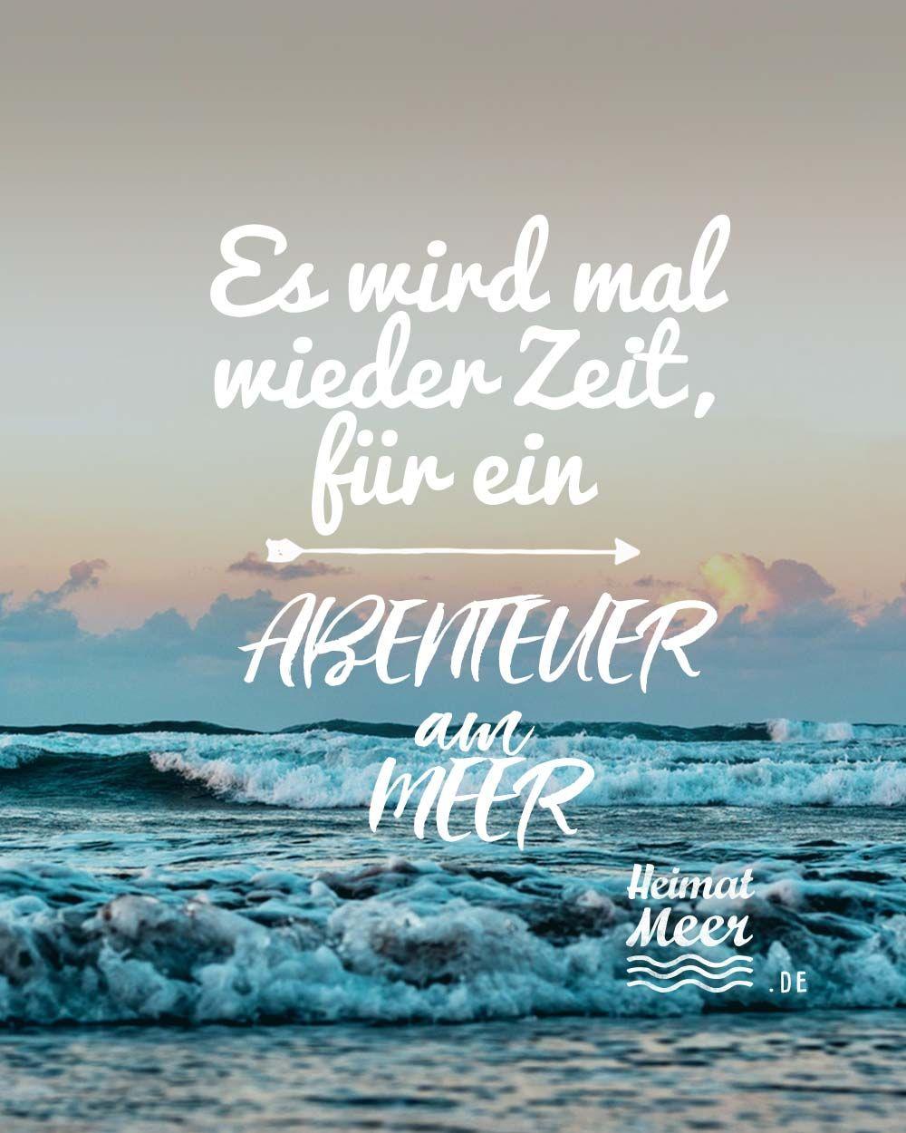 Es wird mal wieder Zeit, für ein Abenteuer am Meer❗Mee(h)r für alle, die das Meer lieben>>