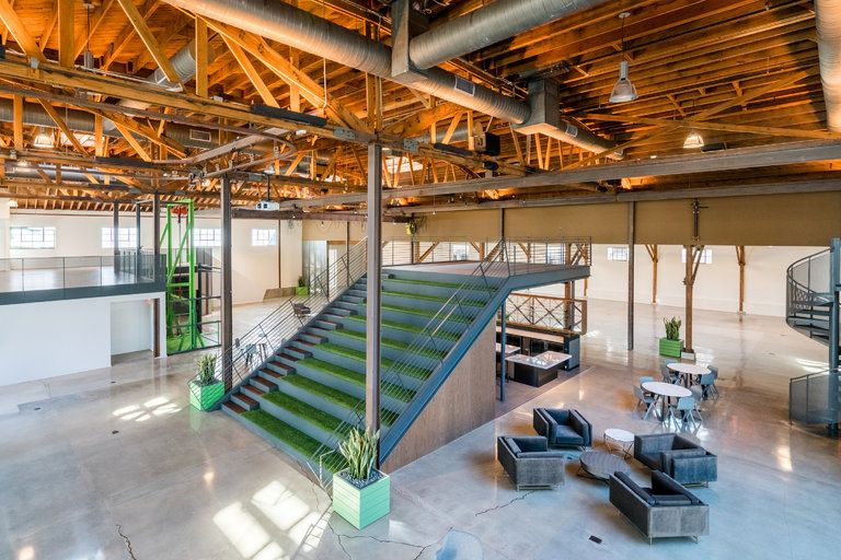 Commercial Building Interior Design Creative old hollywood buildings get makeovers and turn 'creative