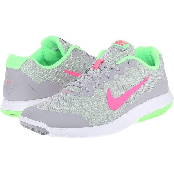 Nike Flex Experience Run 4 Wolf Grey Voltage Green White Hyper Pink, Nike