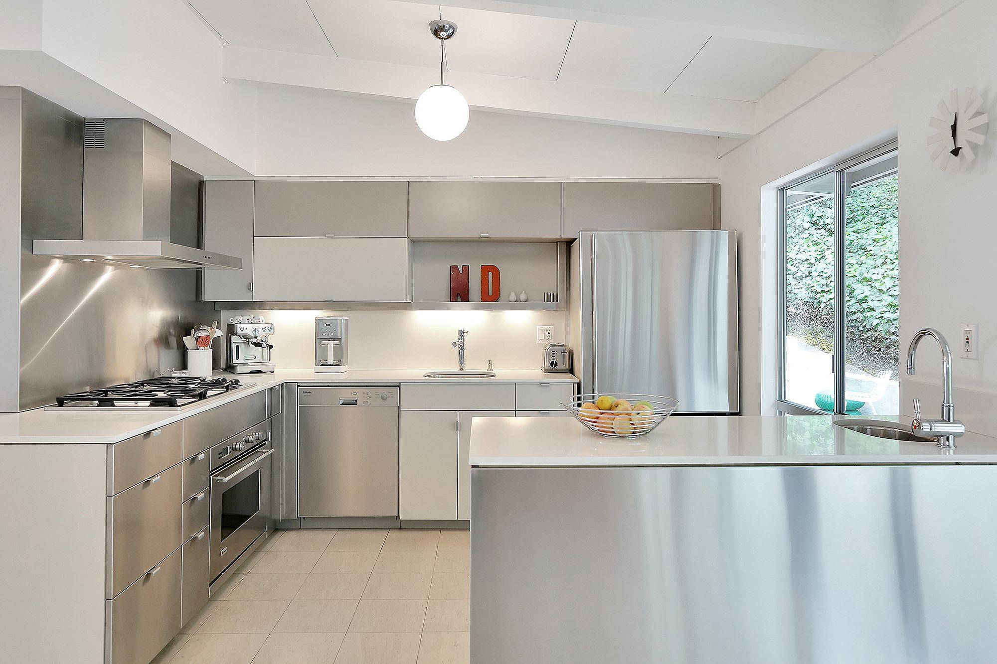 High End Küche Arbeitsplatte Küche edelstahl