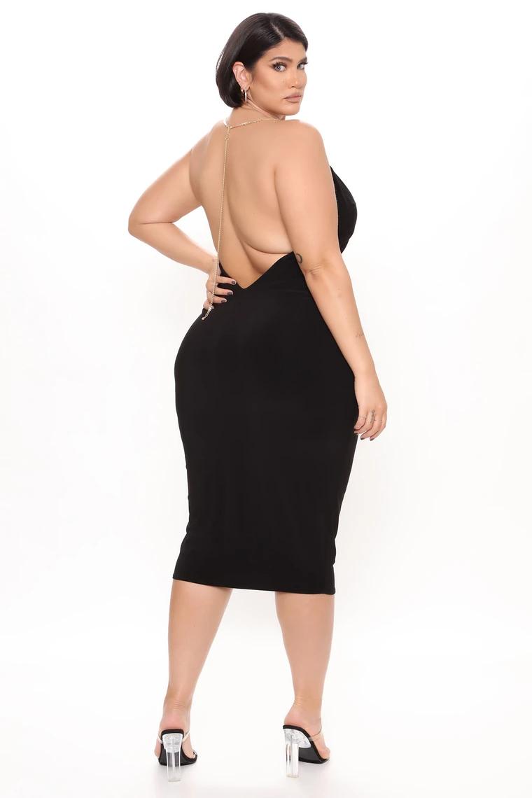 Back In Chains Midi Dress Black In 2021 Black Midi Dress Fashion Dresses [ 1140 x 760 Pixel ]