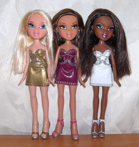 Bratz Hair Style 2008 Dc Superhero Girls Dolls Bratz Girls Bratz Doll