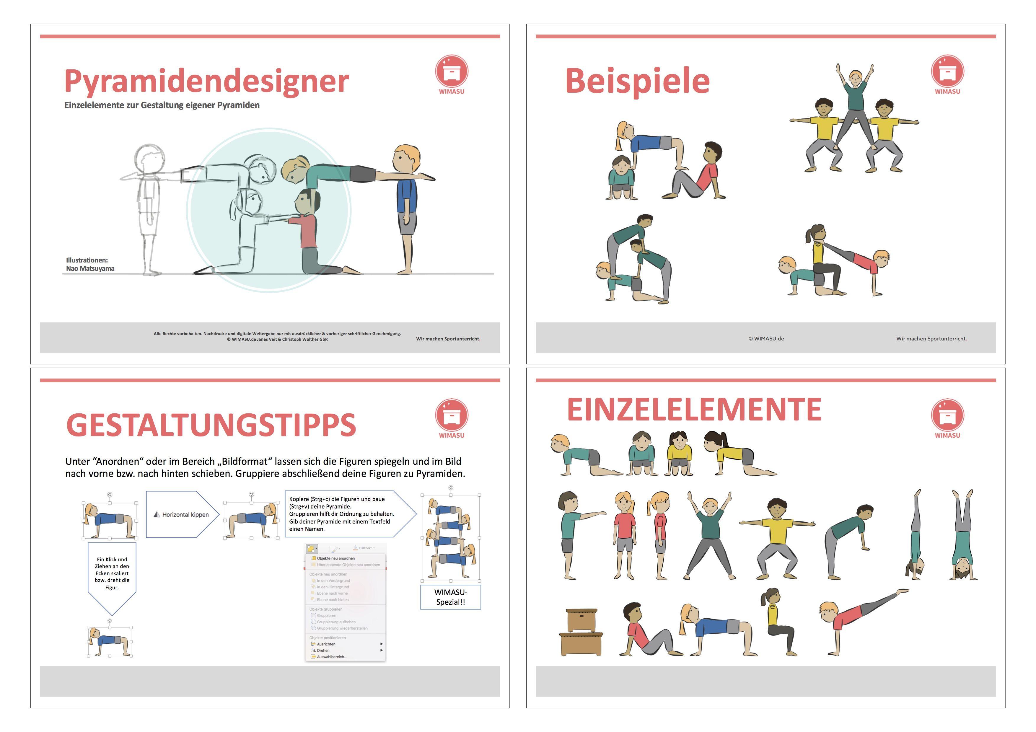 Pyramiden In Powerpoint Selbst Designen Ganz Einfach Mit Dem Pyramidendesigner Sportunterricht Turnen Mit Kindern Kinderturnen