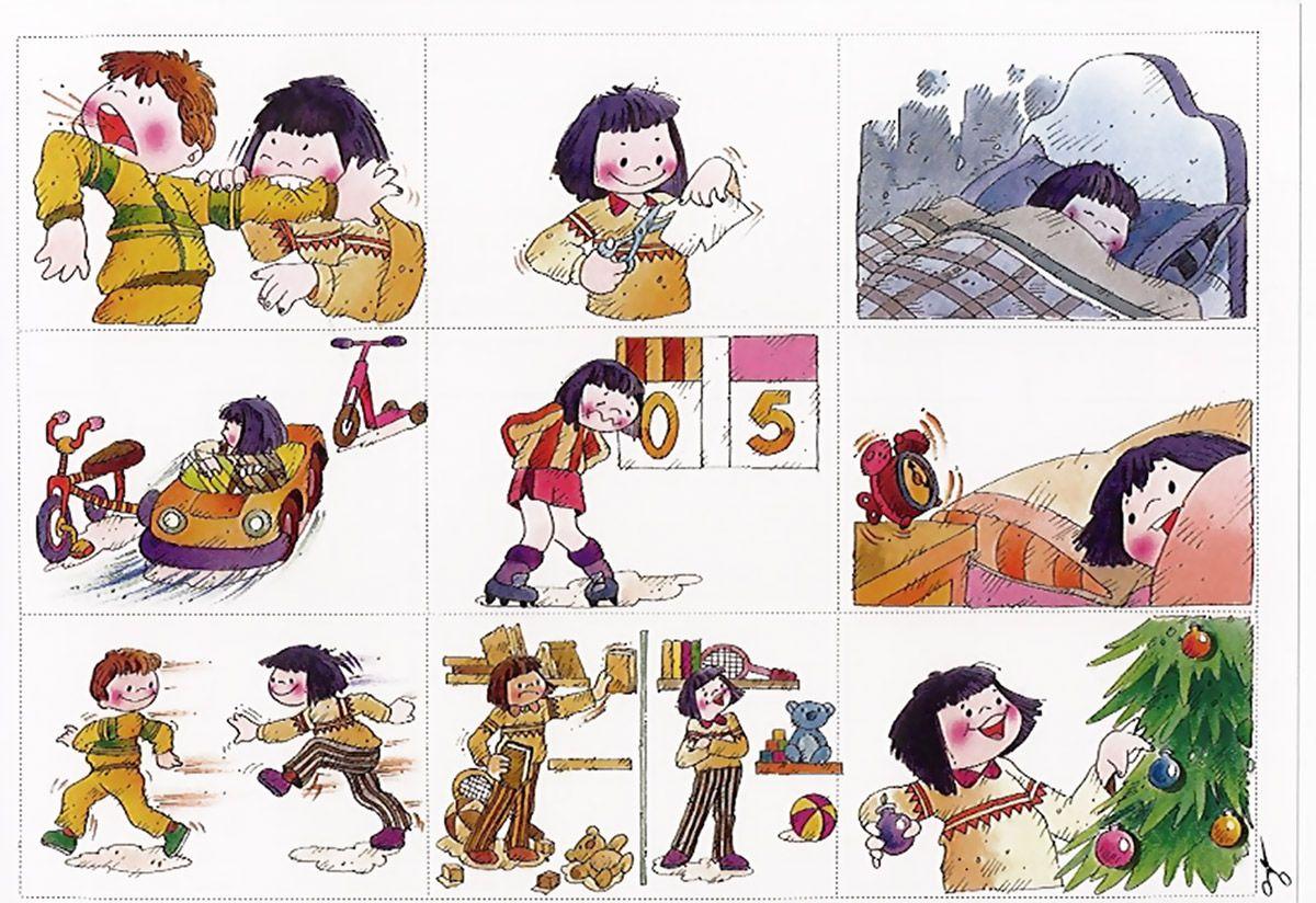 Sequenze di azioni quotidiane (con immagini) | Fonetica ...