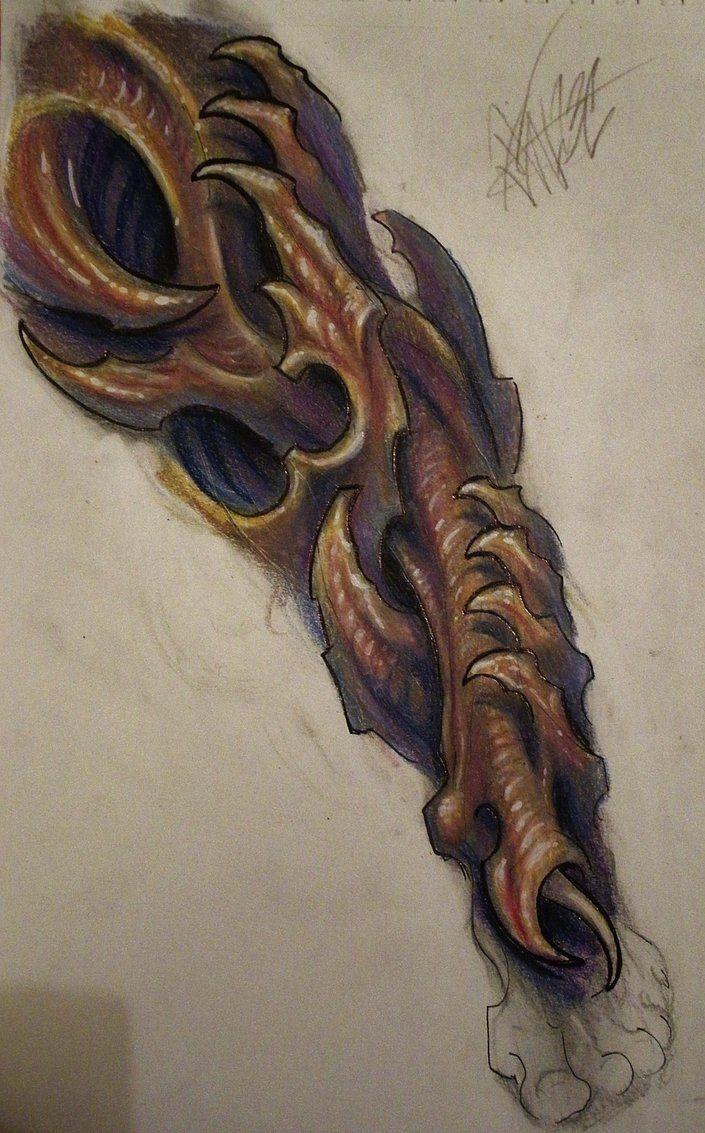 Bio Organic Leg Sleeve by JWheelwrighttattoos on