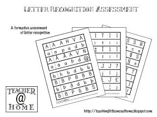 Teaching Little Ones At Home Printable Letter Recognition
