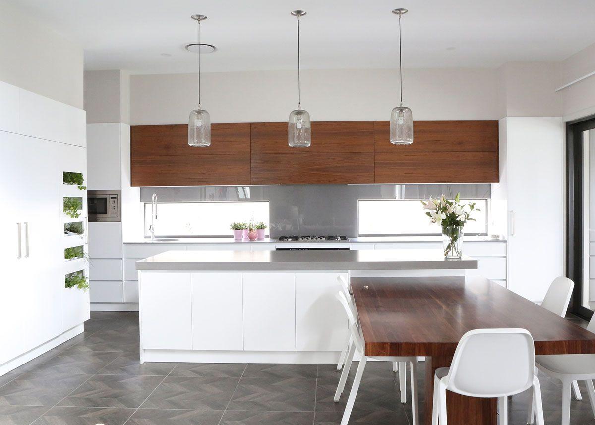Caesarstone sleek concrete   Home   Pinterest   Gold coast, Kitchens ...