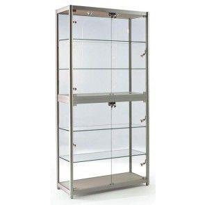fg 800 free standing exhibition cabinet display cabinet cabinet rh pinterest com