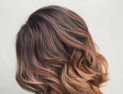 Омбре шатуш на светлые волосы