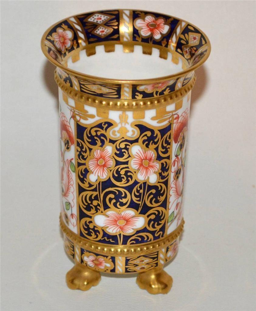 Antique royal crown derby imari vase 1912 antiques are awesome antique royal crown derby imari vase 1912 reviewsmspy
