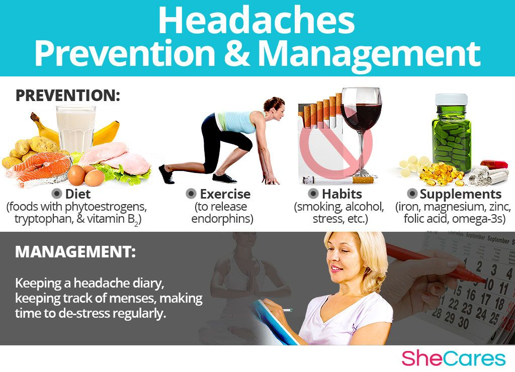 Do you know any other way to prevent having headaches