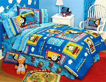 Thomas The Train Bedding Full Size Fire Fighter Thomas Train Bed