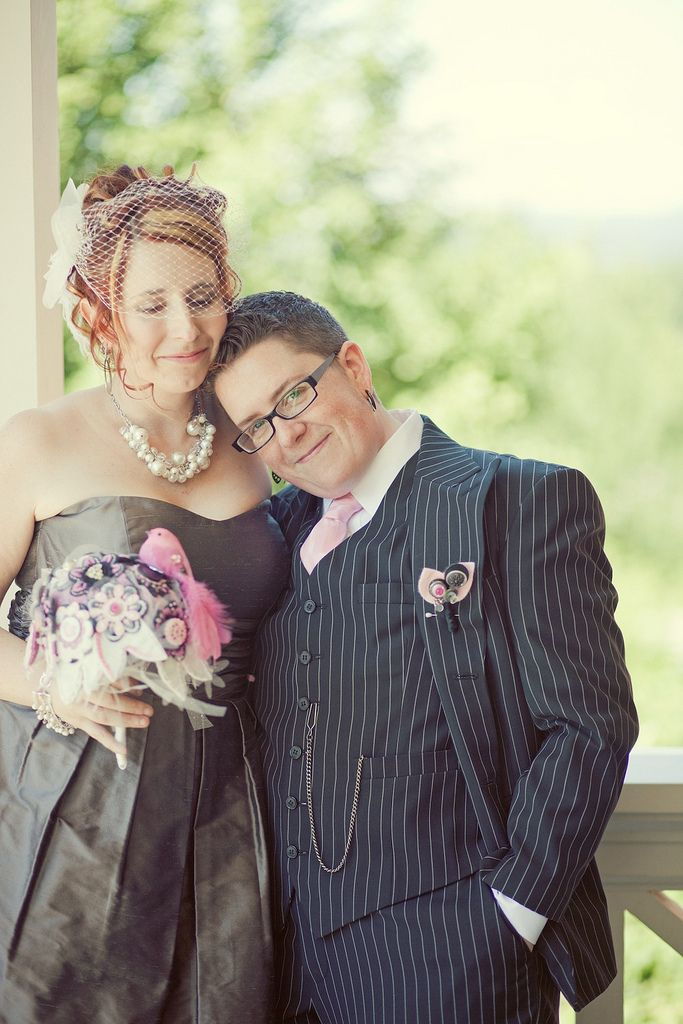 Masculine Makeup For Butch Brides, Brooms And Celebrants