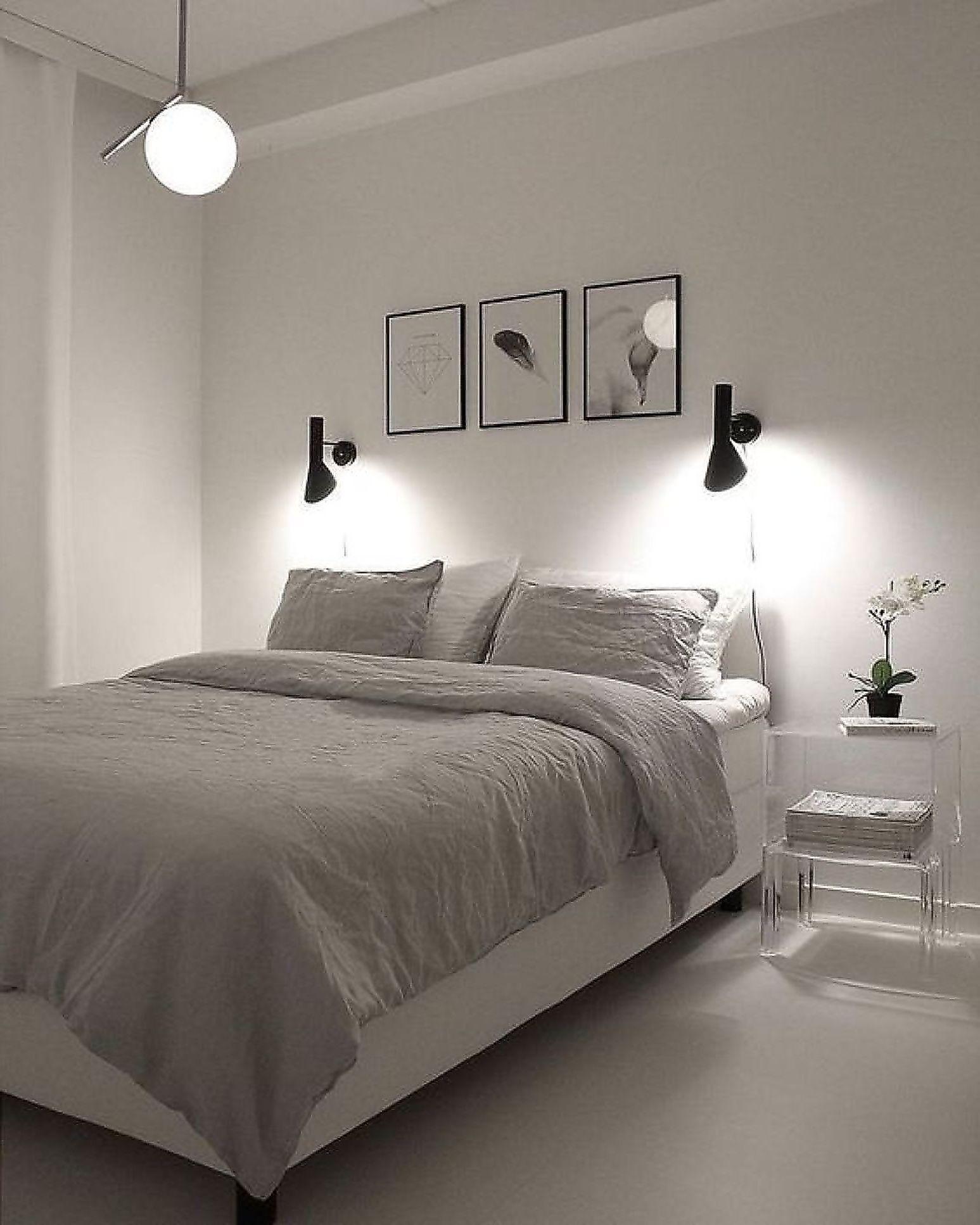 46 Cool Bedroom Tv Wall Design Ideas Simple Bedroom Room Inspiration Bedroom Minimalist Bedroom Decor