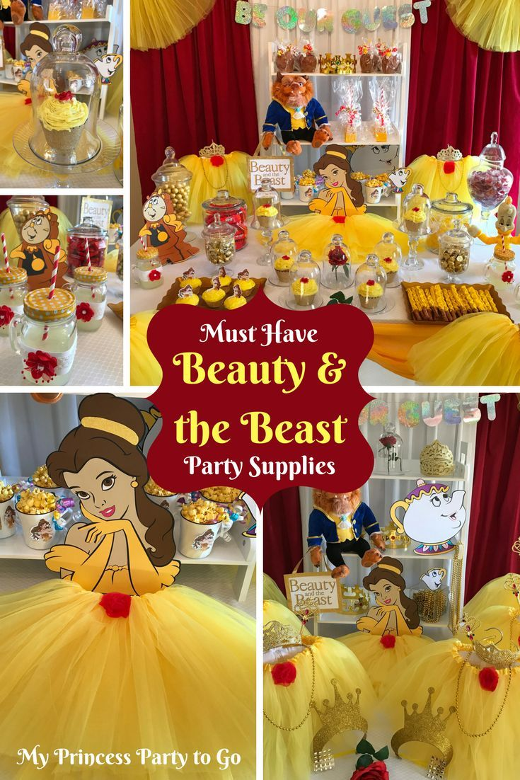 Astounding Planning A Beauty And The Beast Birthday Party We Have Download Free Architecture Designs Scobabritishbridgeorg