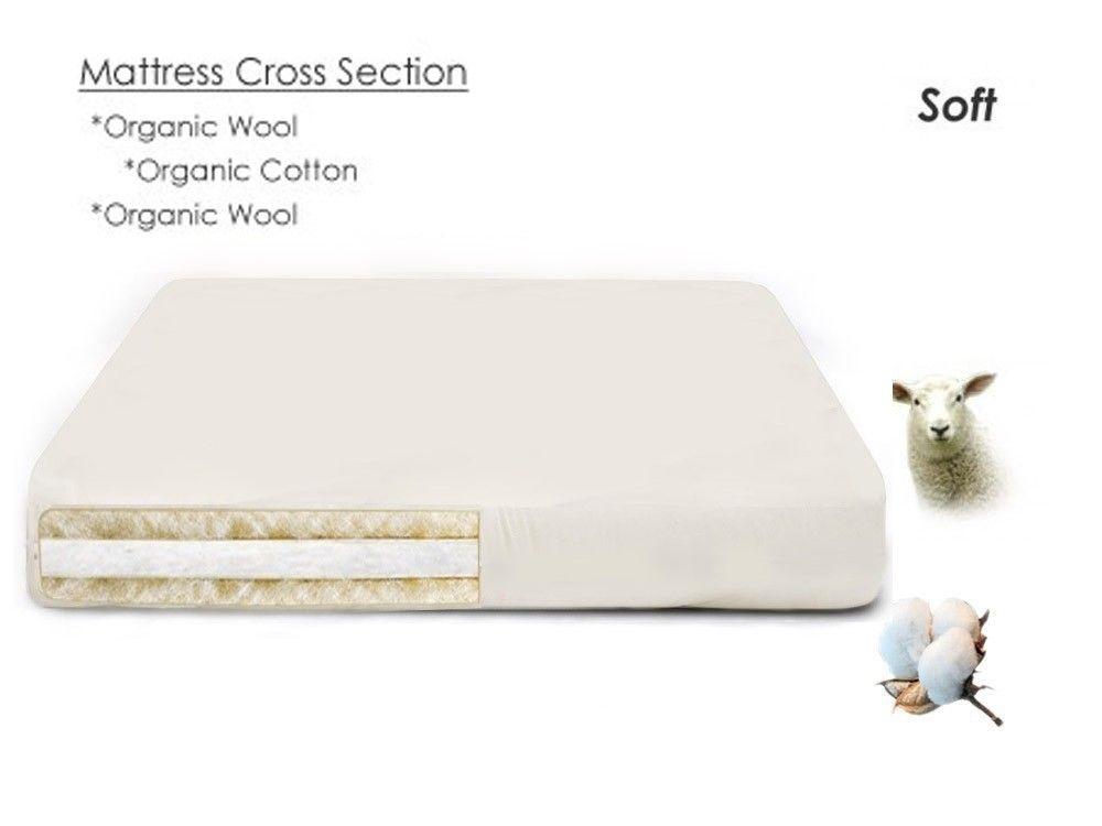 Organic Wool And Cotton Shiki Futon Mattress All Natural