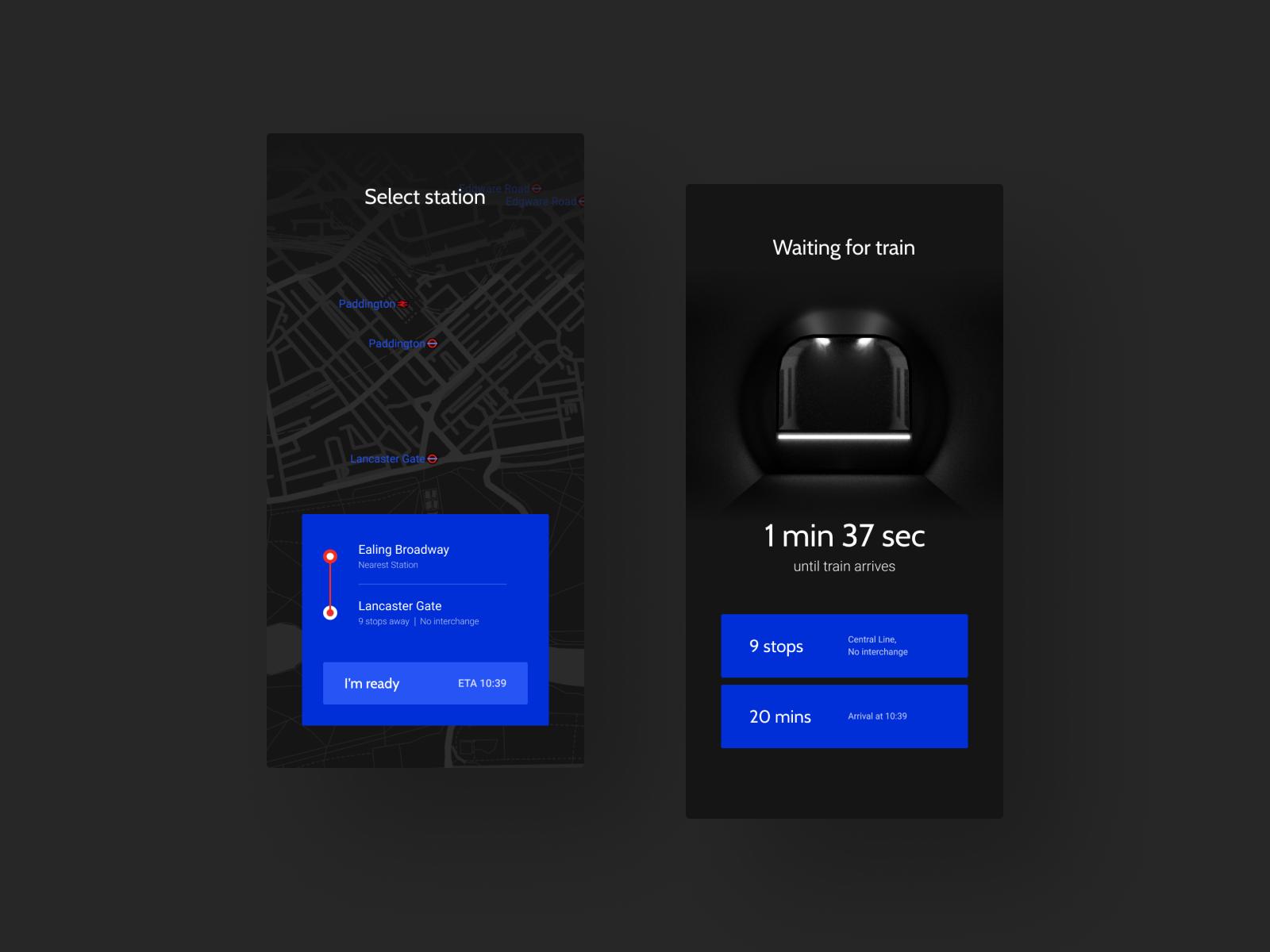 Rails Metro App Concept in 2020 Concept, App, Rails