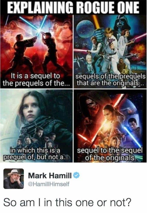 17 Cosas Que Tienes Que Saber Antes De Entrar A Ver Rogue One Star Wars Humor Star Wars Memes Star Wars Fandom