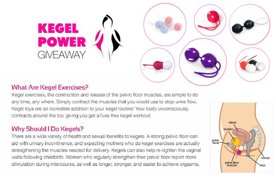Kegals To Work Those Pelvic Floor Muscles