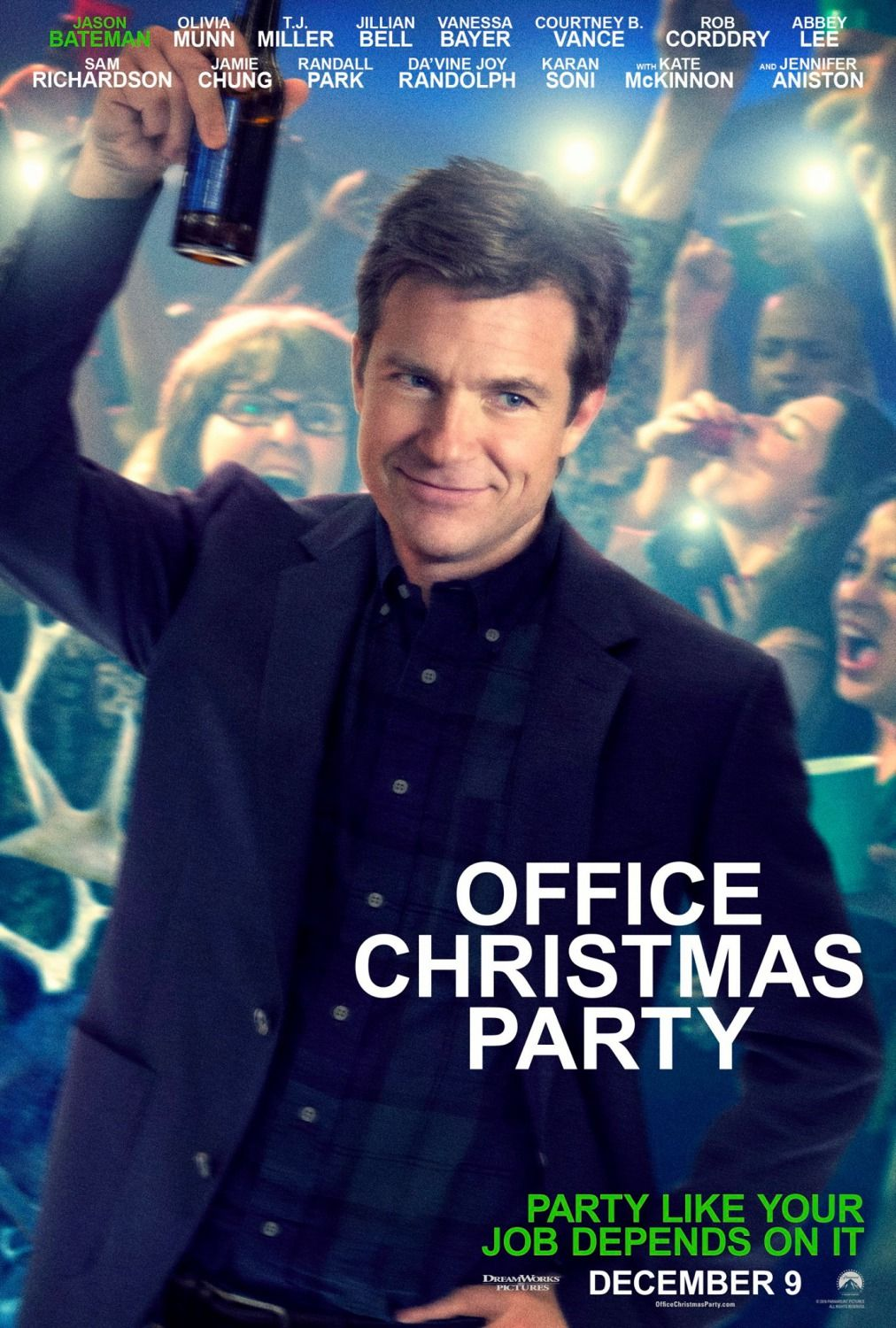 Office Christmas Party Jason Bateman Poster | Posters | Christmas ...