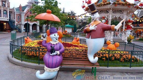 Disneyland Paris halloween decorations Magic xx Pinterest