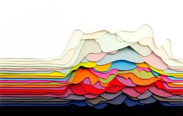 Maud Vantours, paper art