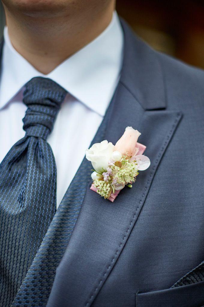 Anstecker Fur Den Brautigam Boutonniere Hochzeit Blumenanstecker