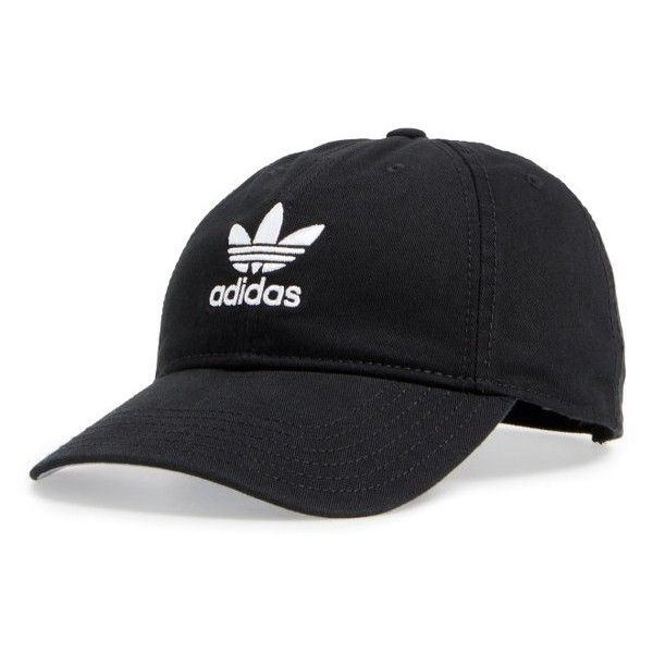 bb5b580679d Women s Adidas Trefoil Baseball Cap ( 24) ❤ liked on Polyvore featuring  accessories
