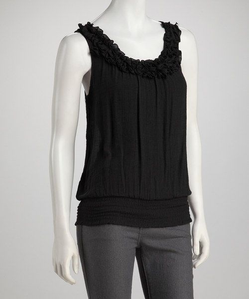 Nothing Adds An Air Of Mystery And Intrigue Quite Like The: This Top Boasts Contemporary Style With An Air Of Mystery