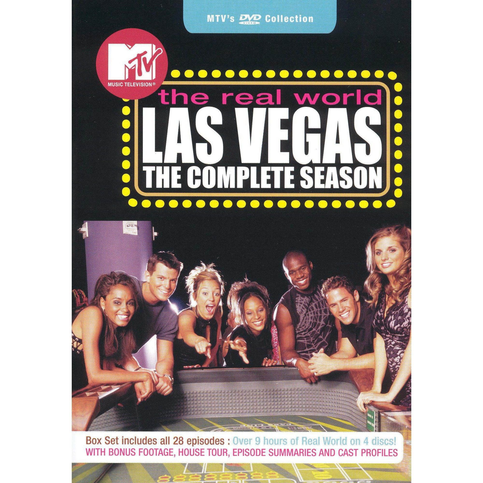 The House Of Sin Dvd mtv's real world: las vegas - the complete season (dvd