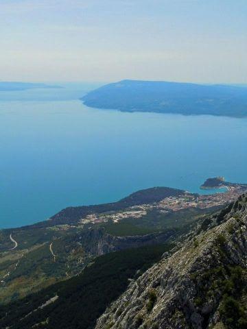 View from Biokovo Mt