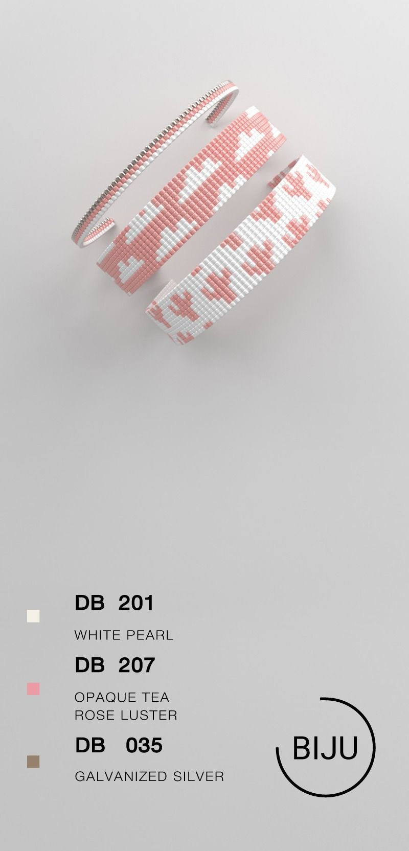 Bead loom pattern LOOM bracelet pattern miyuki pattern | Etsy