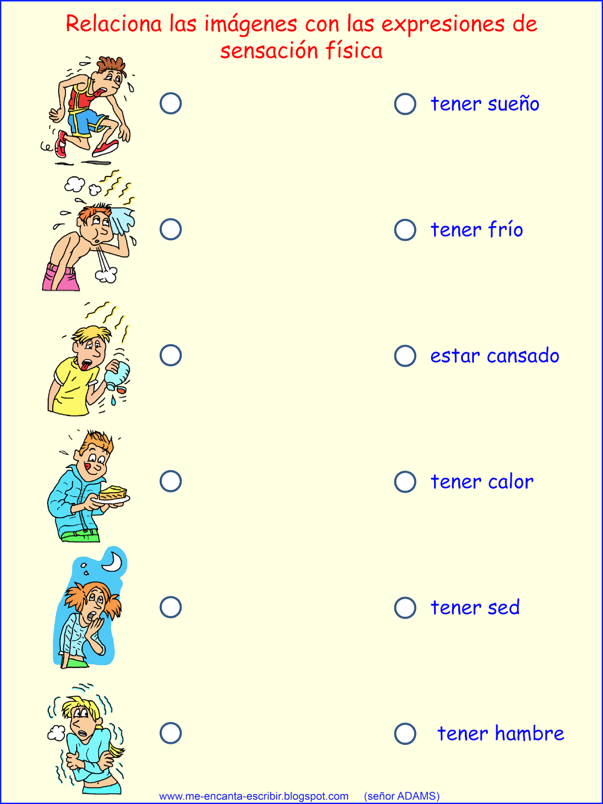 worksheet Tener Expressions Worksheet 10 best images about el verbo tener on pinterest language smileys and songs for kids