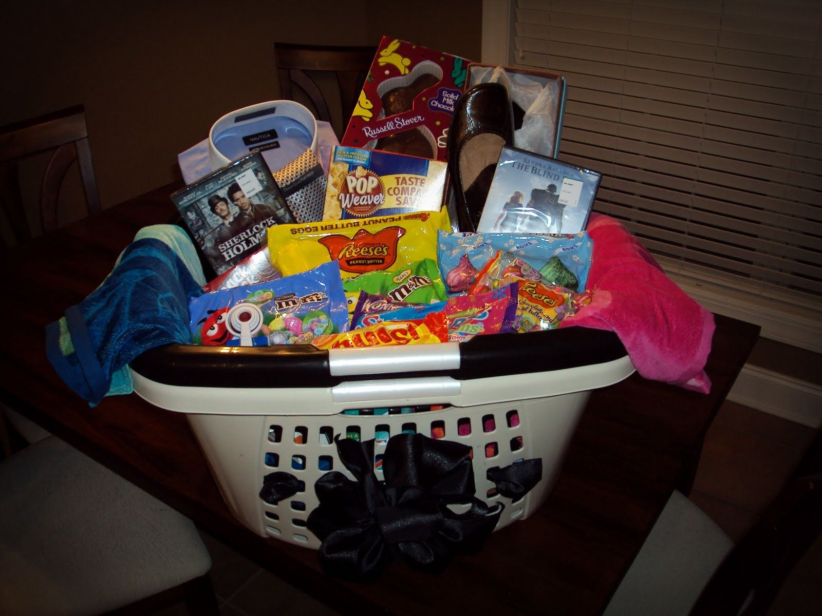 Easter baskets for adults this is our mine and terrys grown easter basket for parents negle Images
