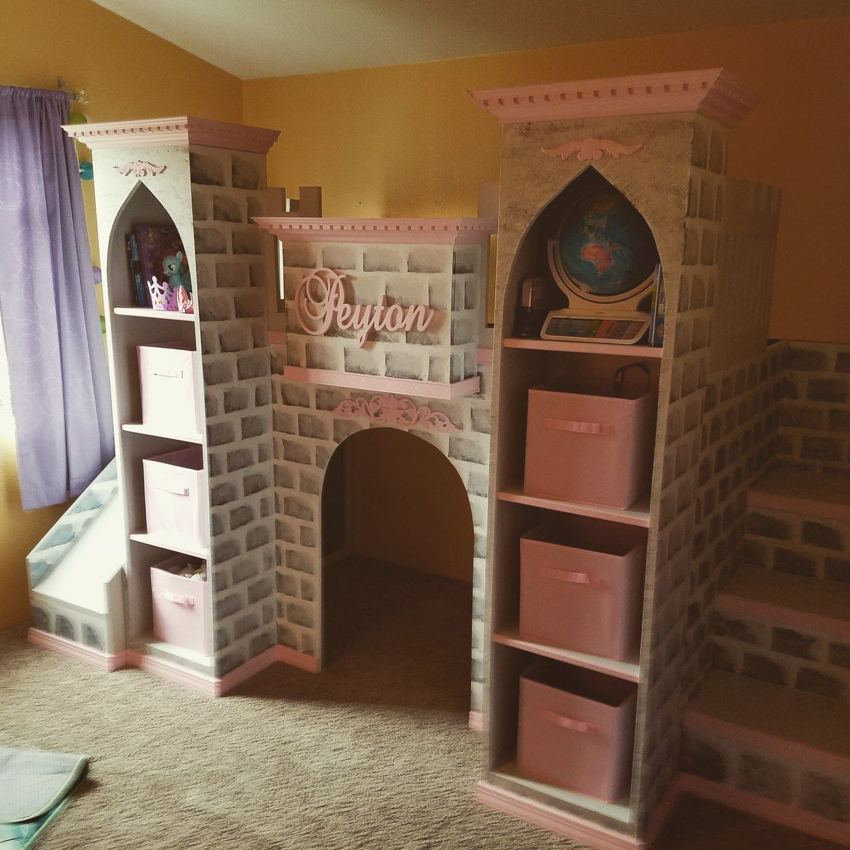 Castle loft bed Ana White in 2020 Loft bed, Diy loft