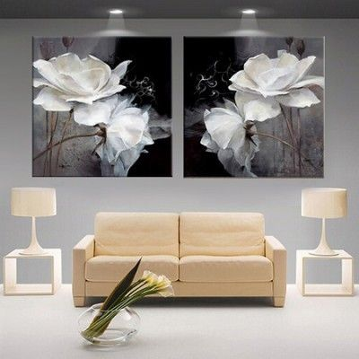 Cuadros Para Salon Moderno Grande Flower That Pained In 2018 - Cuadros-modernos-salon