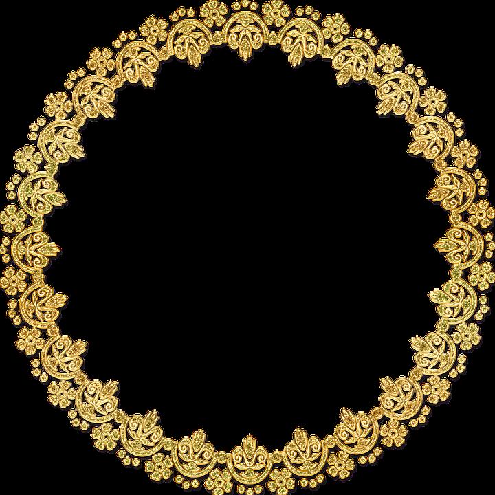 Free Image On Pixabay Frame Round Ornate Gold Vintage Vintage Images Flower Frame Collage Art Projects