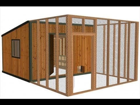 Youtube Chicken Coop Diy Chicken Coop Plans Chickens Backyard