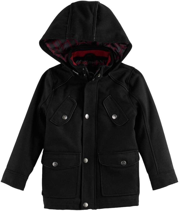 85fad009b Urban Republic Toddler Boy Wool Military Midweight Jacket | Products ...