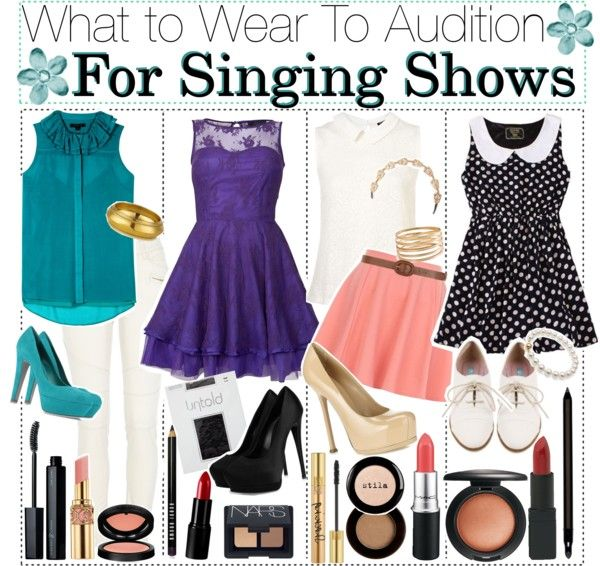 Voice Over Resume: What To Wear When Auditioning For Singing Shows