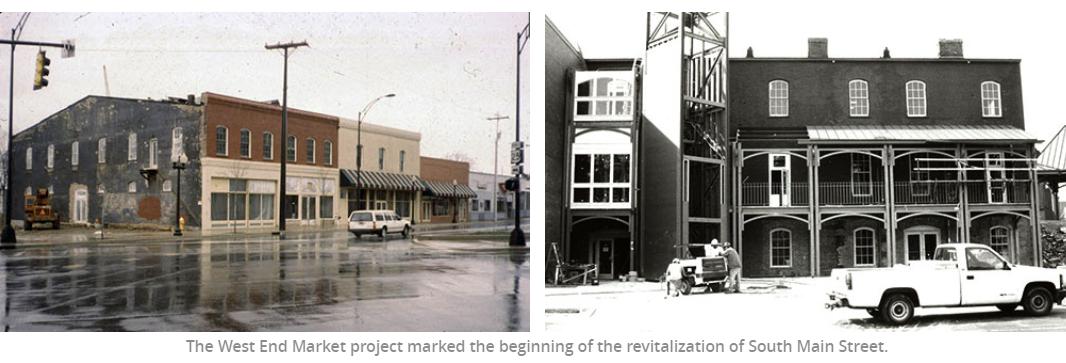 Jimmy S Version Of Greenville S C West End Street Main Street
