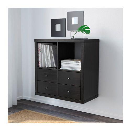 kallax regal schwarzbraun ikea m bel pinterest m bel wohnen und h uschen. Black Bedroom Furniture Sets. Home Design Ideas