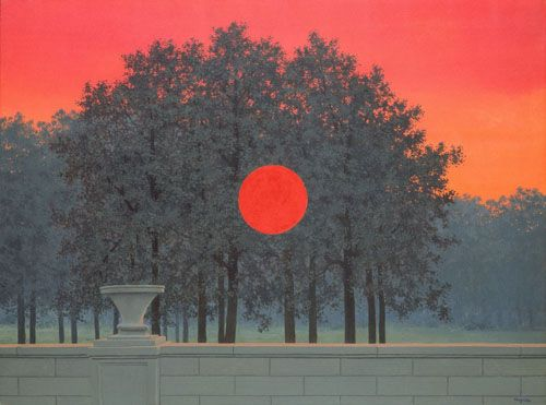 The Sun Never Sets On Magritte The Banquet Magritte Art Magritte Rene Magritte