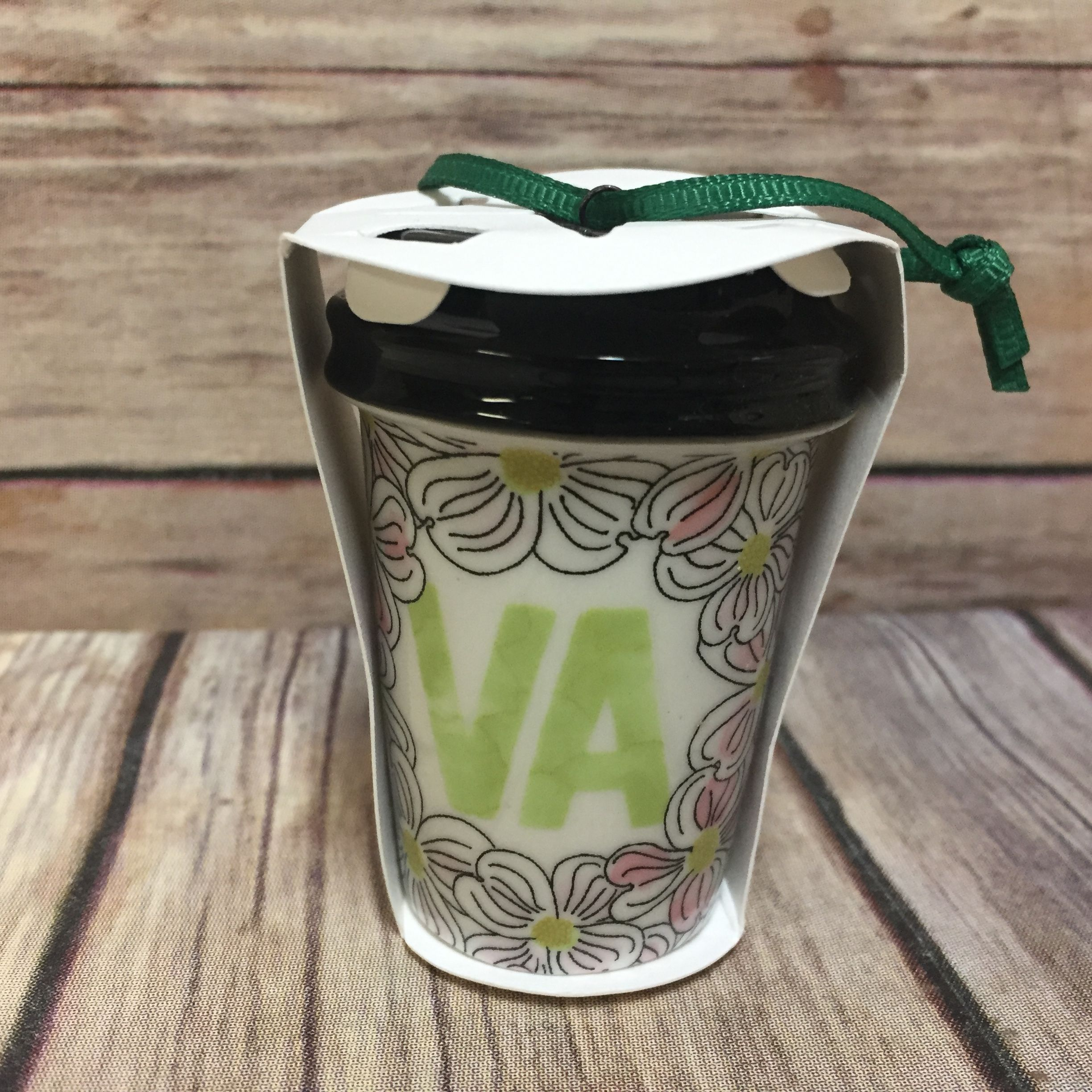 Starbucks Virginia Christmas Ornament To Go Cup Local