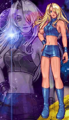 Samus Aran Metroid Fusion Ending