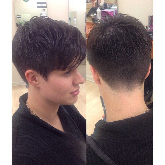 14268 short faded and tapered