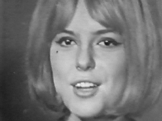 France Gall, winner of the Eurovision Song Contest 1965 for Luxembourg