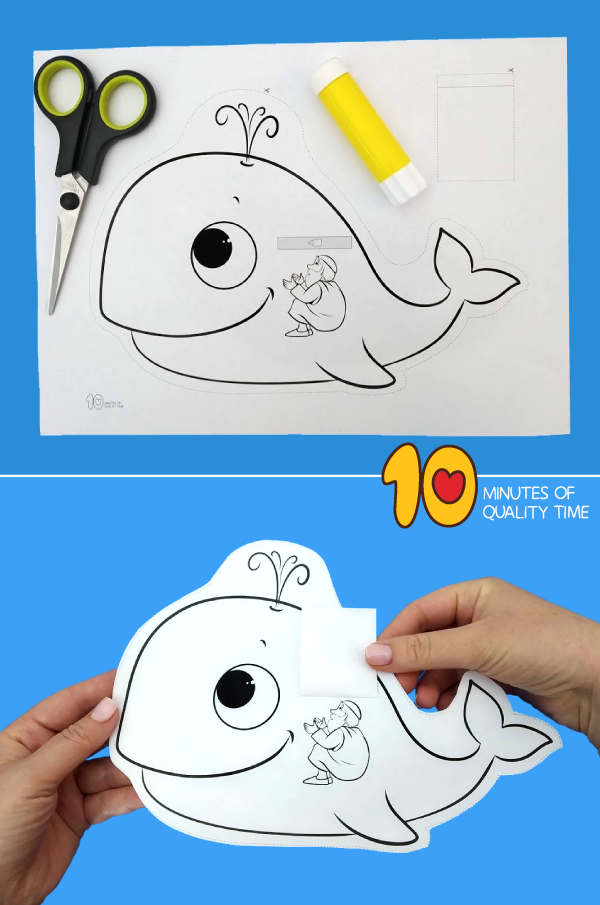 45++ Jonah and the whale craft printable information