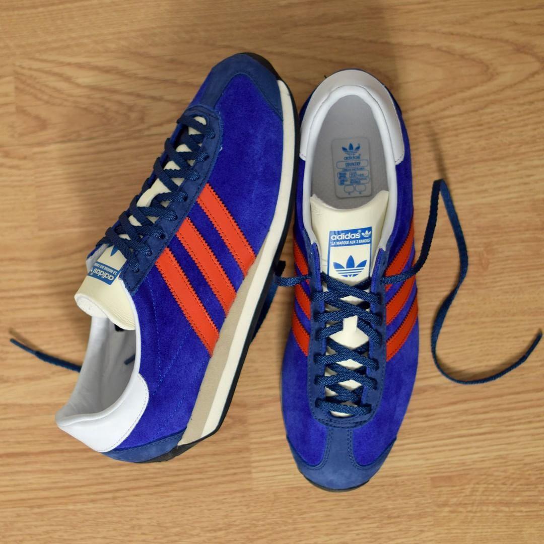 ¡Adidas Originals Country og: azul / Rojo Añadir Adidas!Pinterest